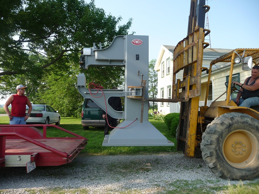 The Powell Hammer Yoder Style Power Hammer For Sale
